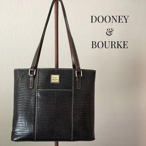 Dooney & Bourke Lizard Embossed Small Lexington